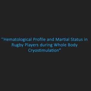 blood profile + athlete + wbc