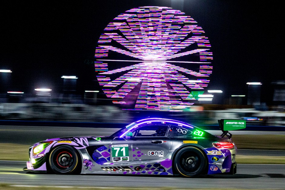 The-No.-71-P1-Motorsports-Mercedes-AMG-GT3-racing-in-the-Rolex-24-At-Daytona